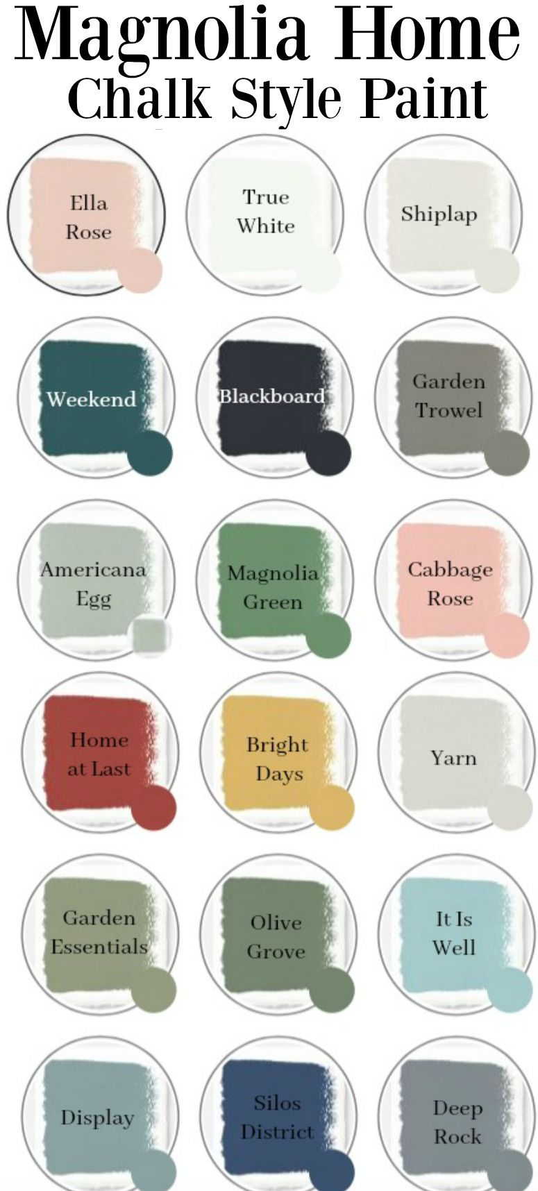 Chalk Paint Magnolia Home Chalk Paint Colors Sarah Joy Blog Chalk Paint Colors Furniture Painted Furniture Colors Magnolia Homes