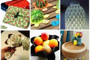 10 Artesanatos Reciclados (Simples) que Você Pode Fazer em Casa