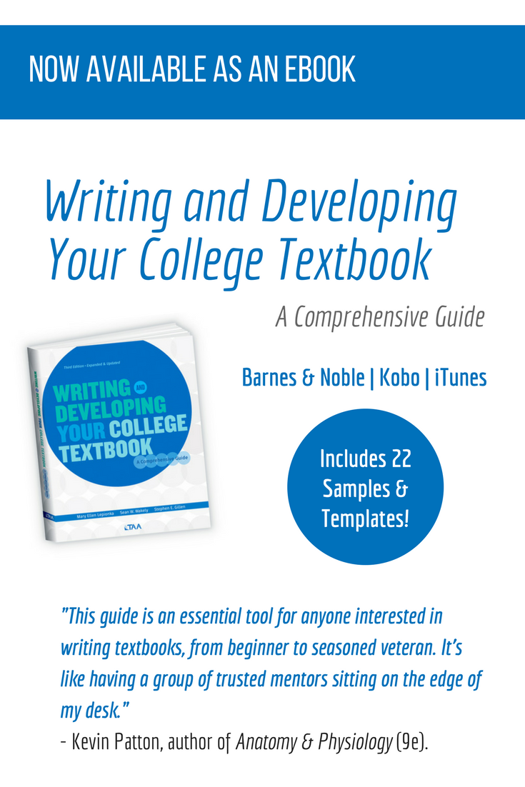 Writing and Developing Your College Textbook This updated and ...
