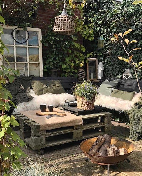 Photo of 24 Handy Patio Pallet Furniture Ideas – Unique Balcony & Garden Decoration and E…