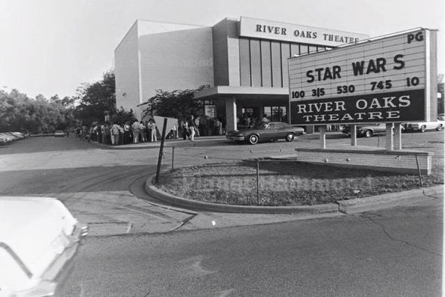 The River Oaks Theater once located in Calumet City, IL