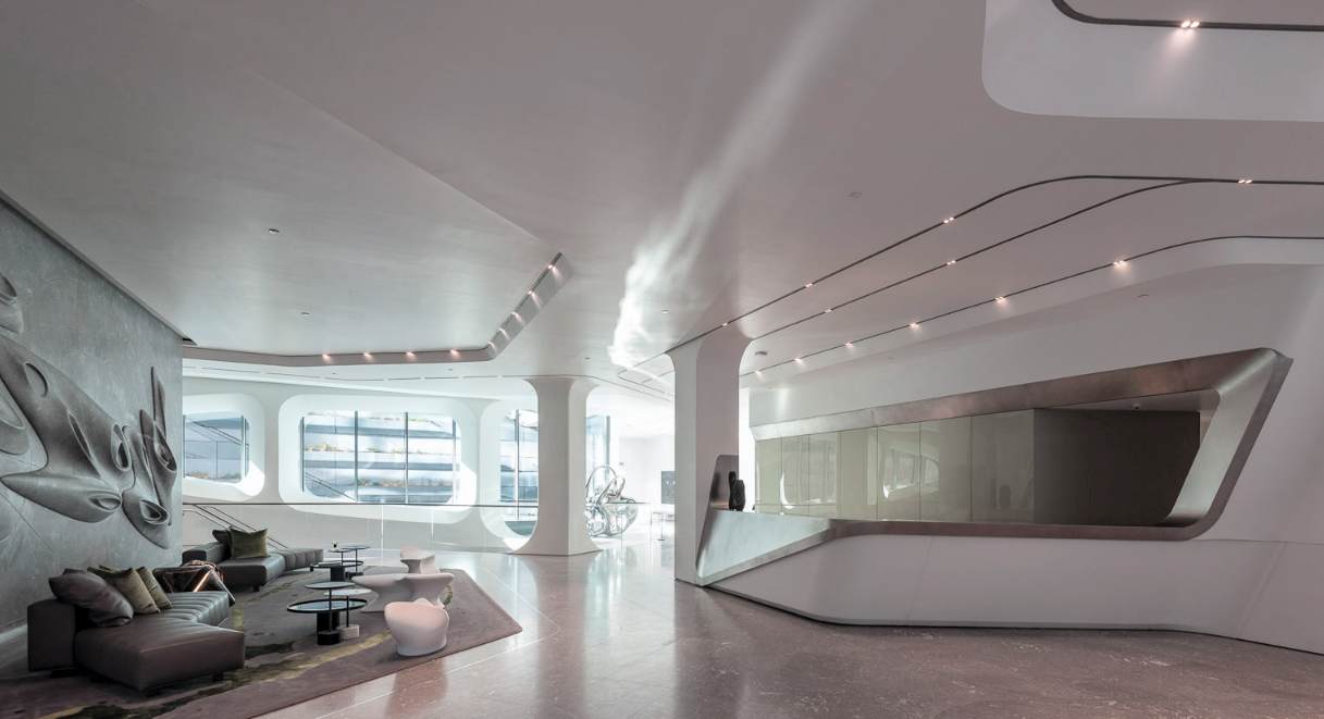 520 West 28th Building In Ny Zaha Hadid Architects Zaha Hadid