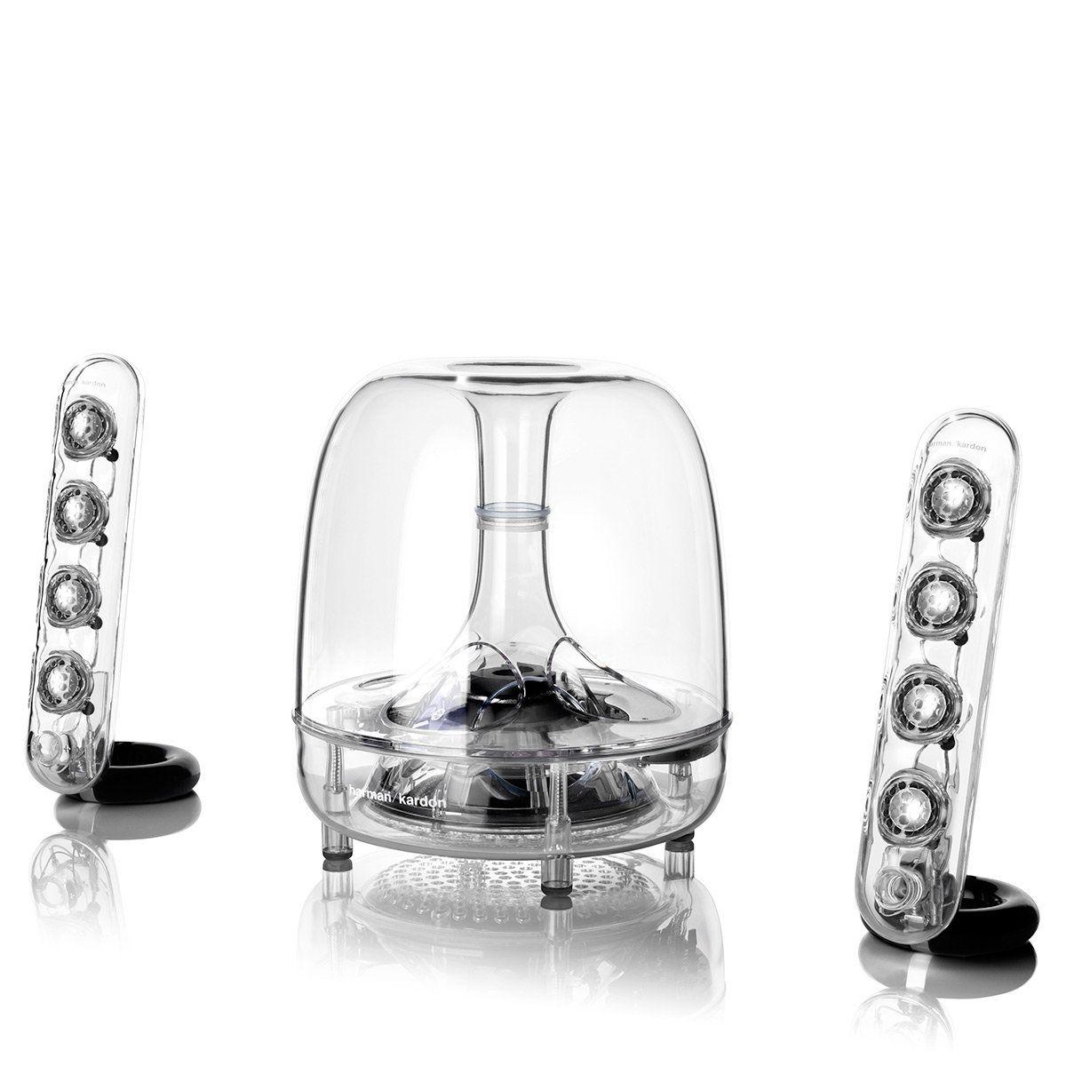 Discover Harman Kardon SoundSticks Wireless Bluetooth 100.10 Home