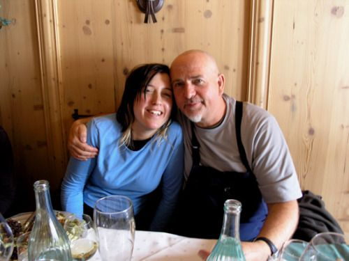 Peter And His Daughter Melanie She S Got His Teeth