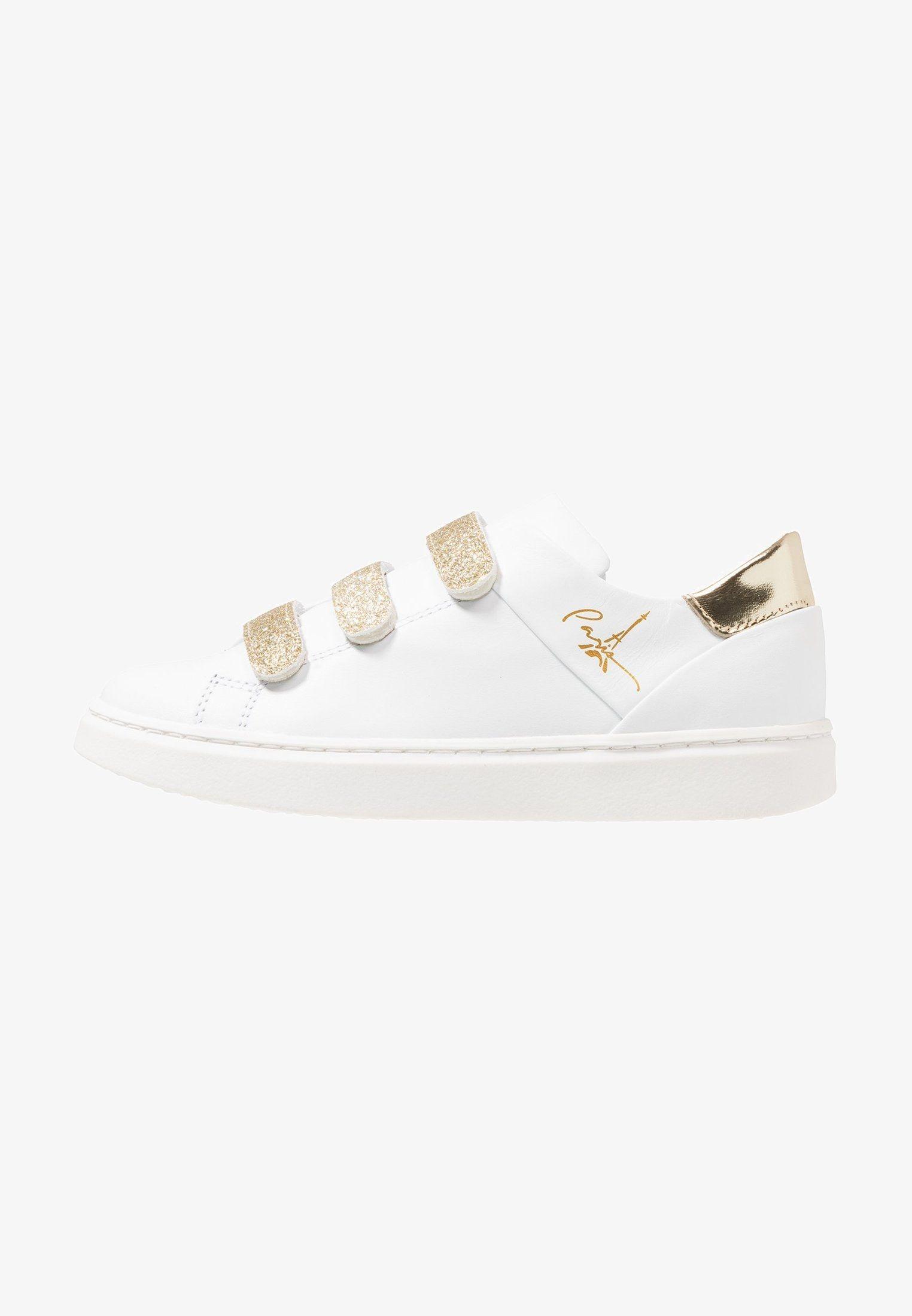 Sneaker Low White Zalando De Schuhe Fur Madchen Sneaker Metallic Look