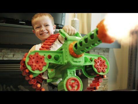 GunVsGun Videos. Nerf WAR! BLASTER Battle!