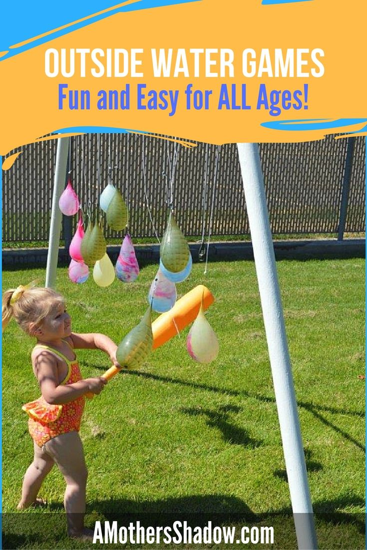 Easy Water Games For Everyone Kids Party Games Games For Toddlers Carnival Games For Kids