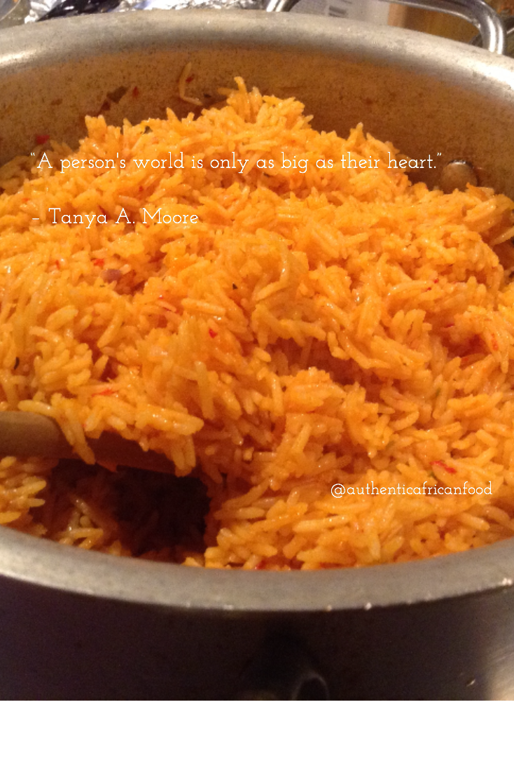 We make #delicious jollof rice @AuthenticfricanFood. order now! 07459709104