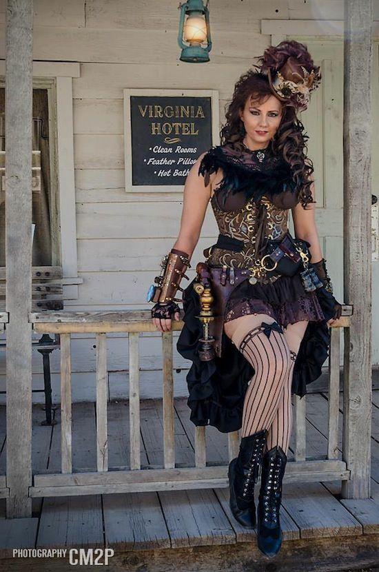 Steampunk Saloon Girl / Western Steampunk (Wild Wild West ...
