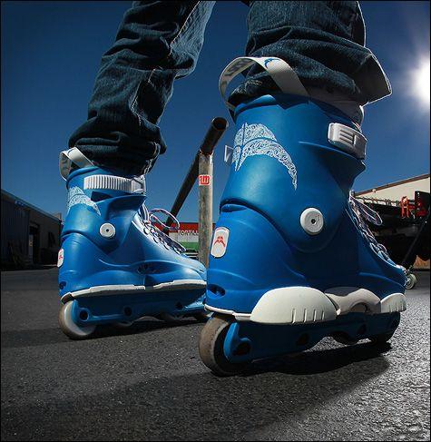 Razors Sega Blue Patines Agresivos Patines Rollerblade Patinaje