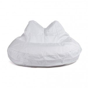 Kitty Cat - White #beanbags #outdoor #indoor #beanbag #big #soosantai #quality #adult #kid #relaxing #rest #bean #bag #confort #confortable