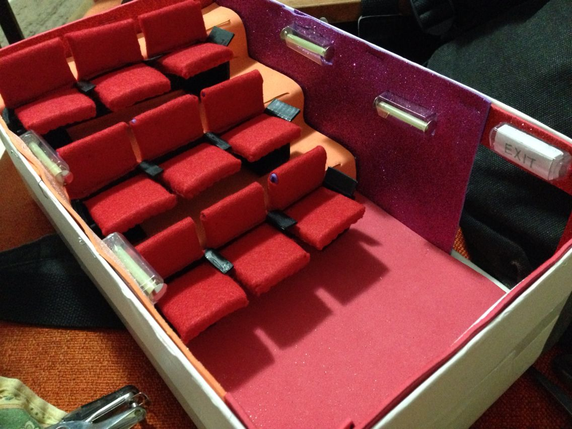 Movie Theater In A Shoebox Movie Crafts Movie Theater Shoe Box