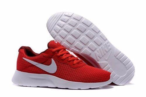 d6287bb78b Tenis Nike Tanjun - Rojo Con Blanco 812654-616 - $ 1,290.00 in 2019 ...