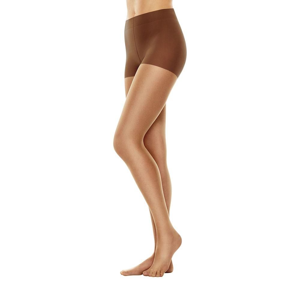 9577464e39577 Plus Size Hanes Perfect Nudes Tummy Control Pantyhose, Women's, Size:  1X-2X, Drk Yellow