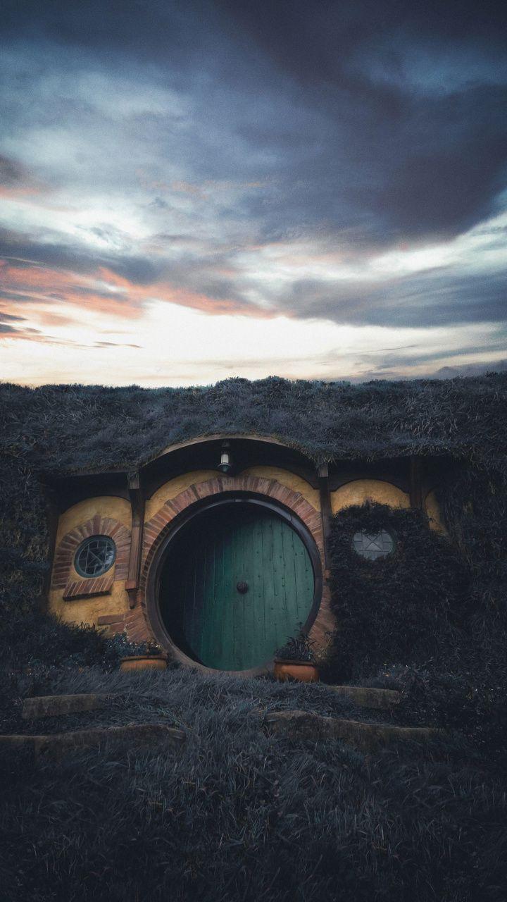House The Hobbit Movie Set New Zealand 720x1280 Wallpaper