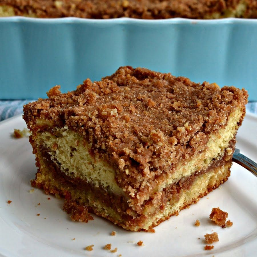 Sour Cream Coffee Cake Recipe In 2020 Sour Cream Coffee Cake Coffee Cake Easy Cake Recipes