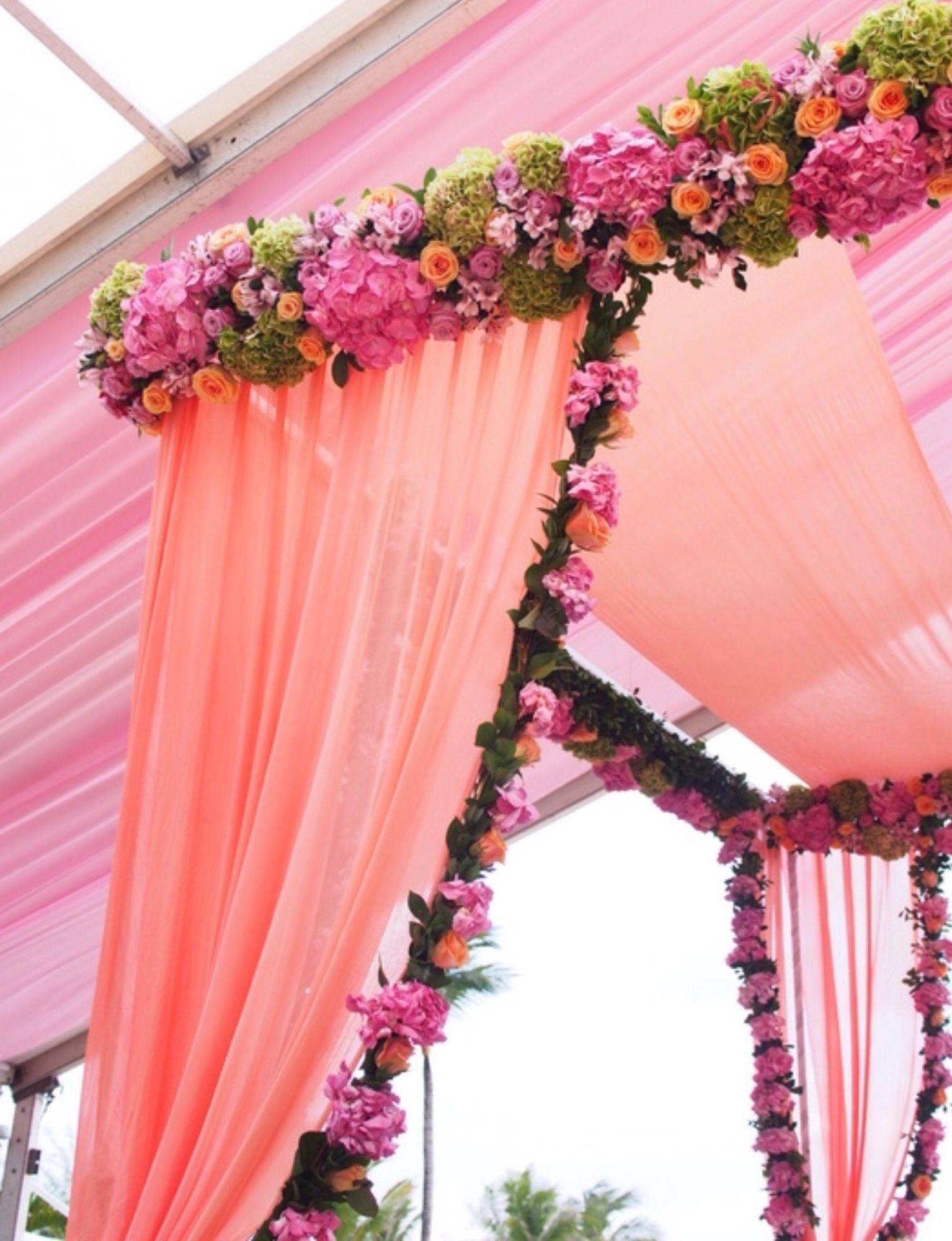 Wedding mandap decoration ideas  Pin by ankita bandrapalli on Weddings  Pinterest  Wedding mandap