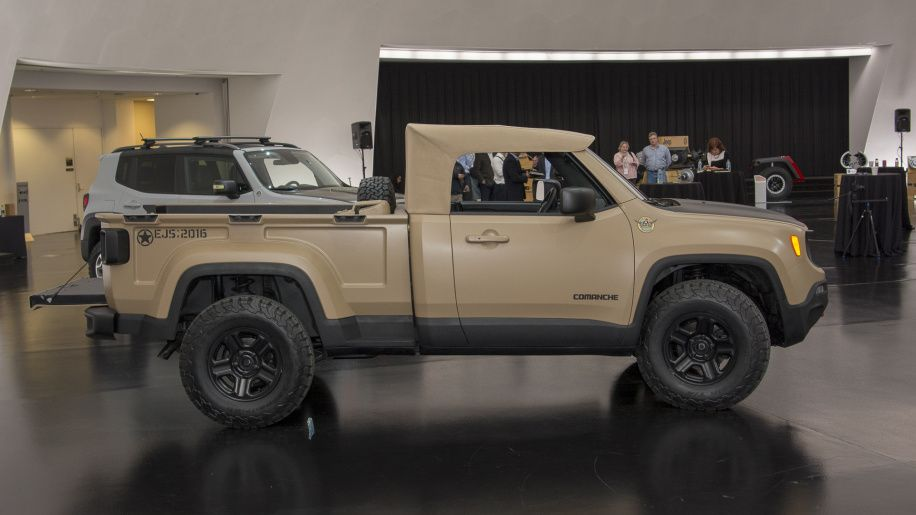 Jeep Renegade Comanche Pickup Concept Photo Gallery Jeep Jeep