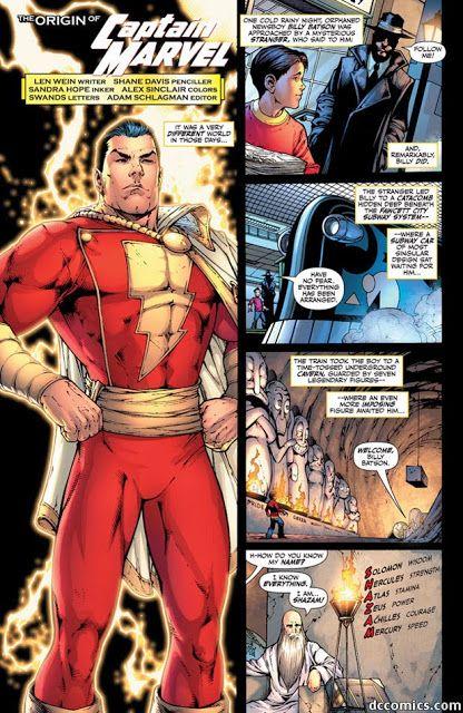 Captain Marvel Shazam Dc Comics Characters Comic Superheroes Comic Books Comic Movies Comic Games Comic Art Origins Fantasy Art