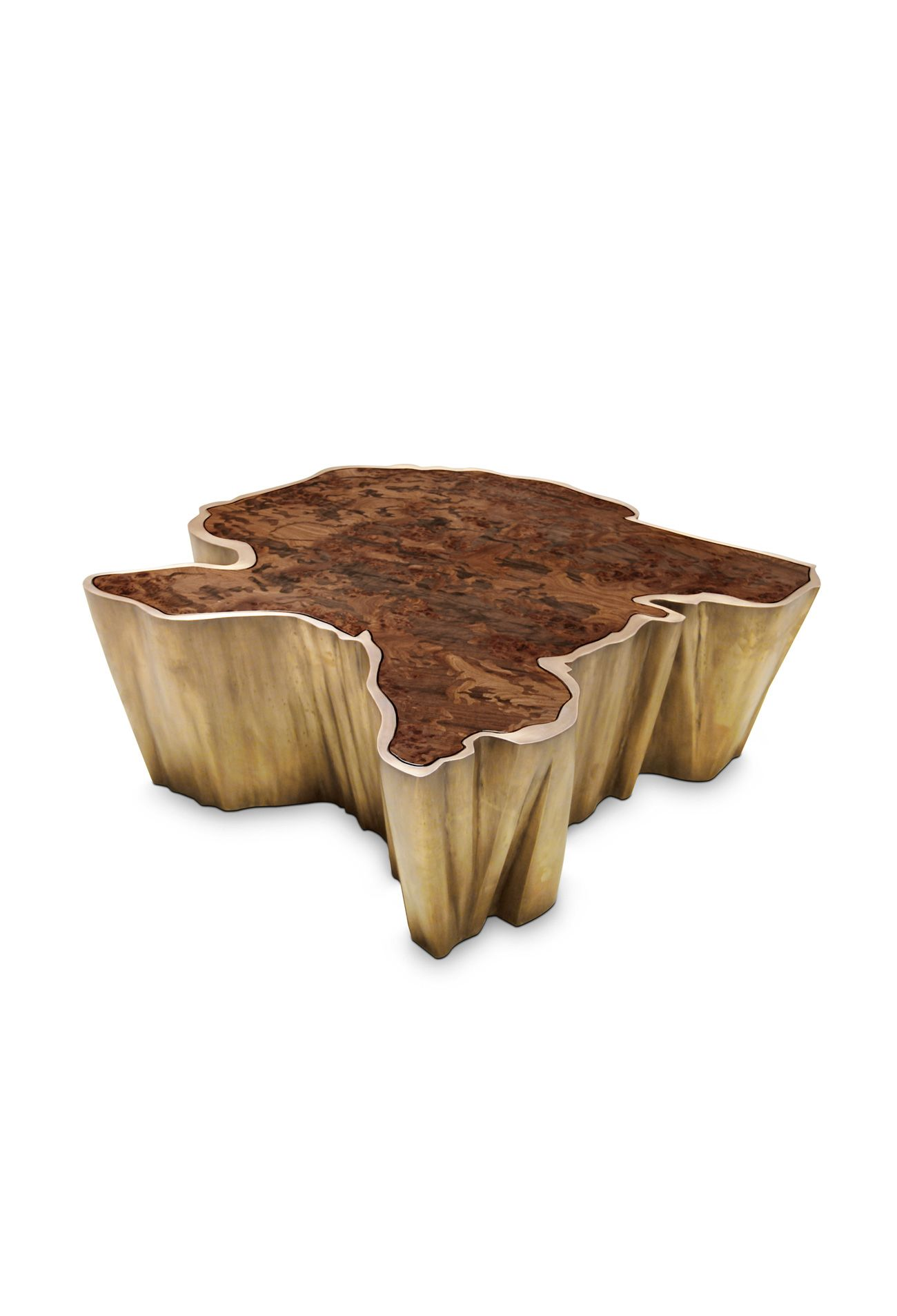 Contemporary Coffee Table Sequoia Is A Tree Shaped Table