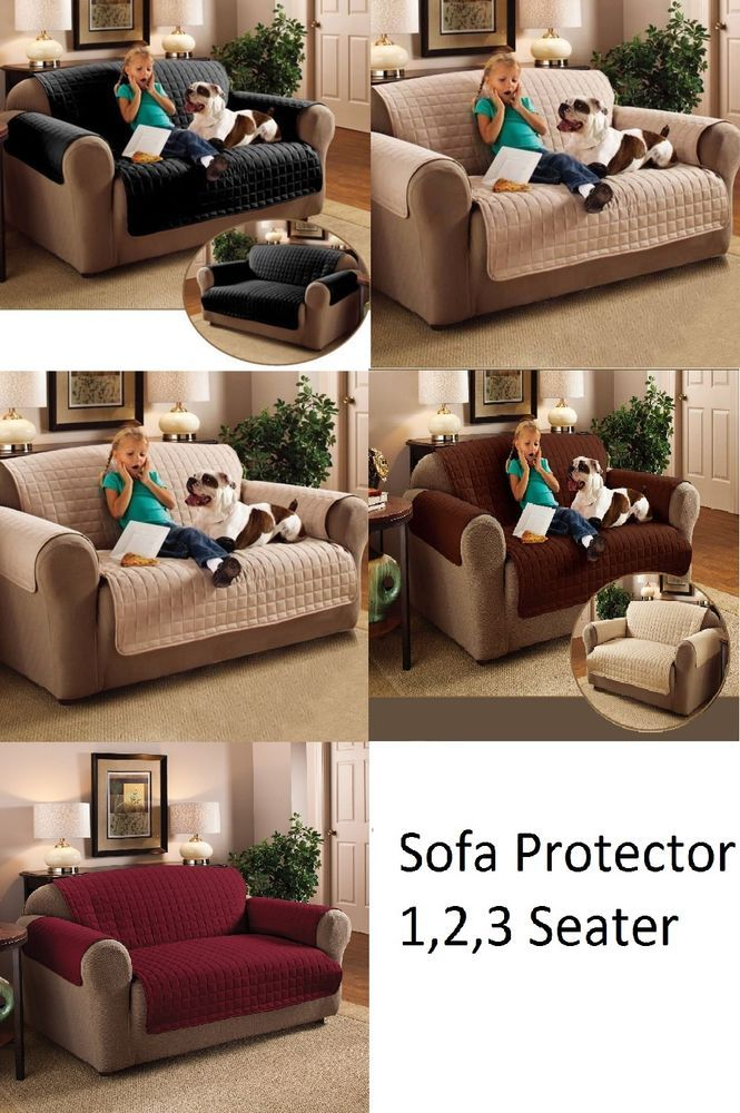 Details About New Sofa Protector Cover Arm Chair Furniture Throw Slip Cover  Water Resistance