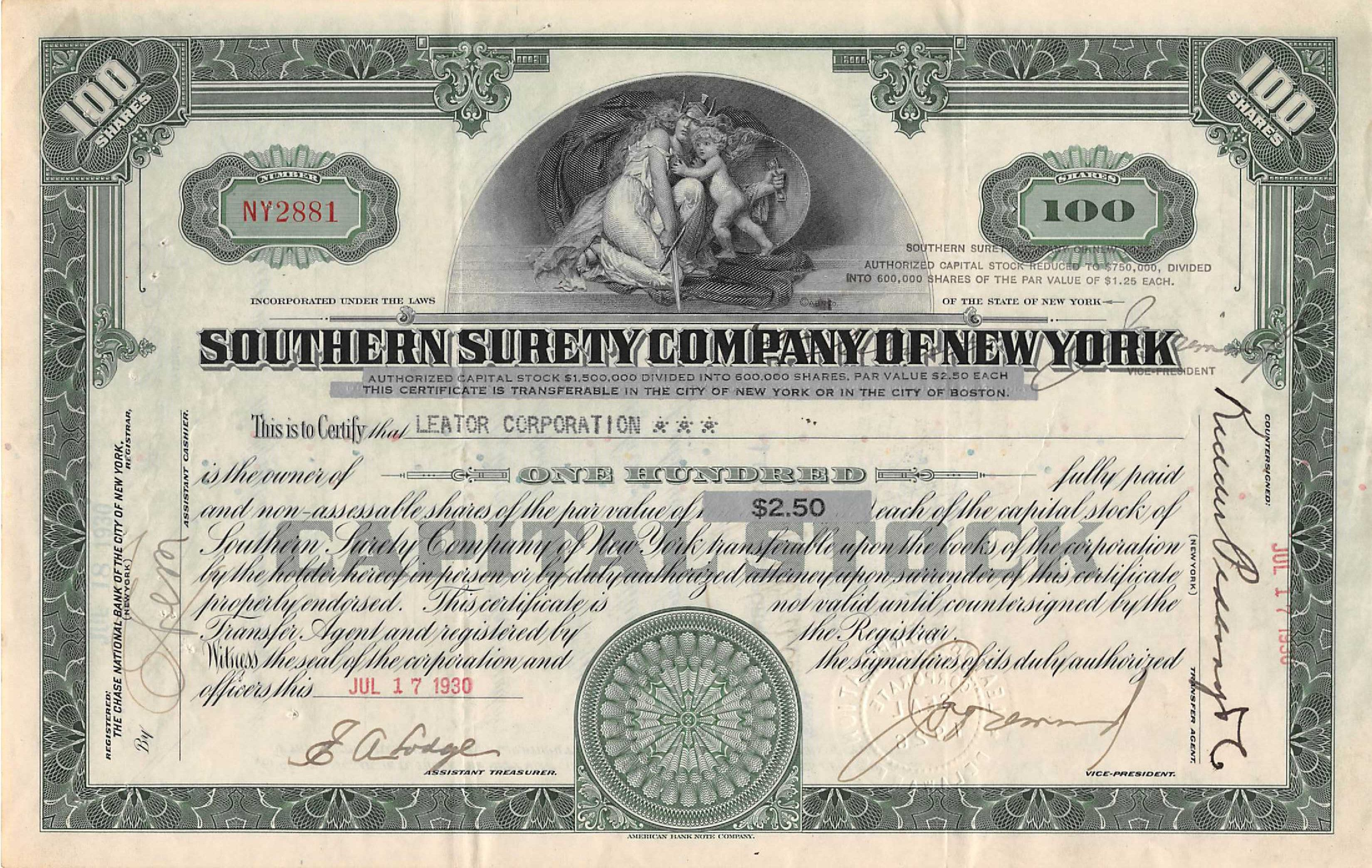 If you have lost a stock or bond certificate, money order