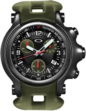 OAKLEY HOLESHOT WATCH Inspired by the company s athletes 39d79d2d5b