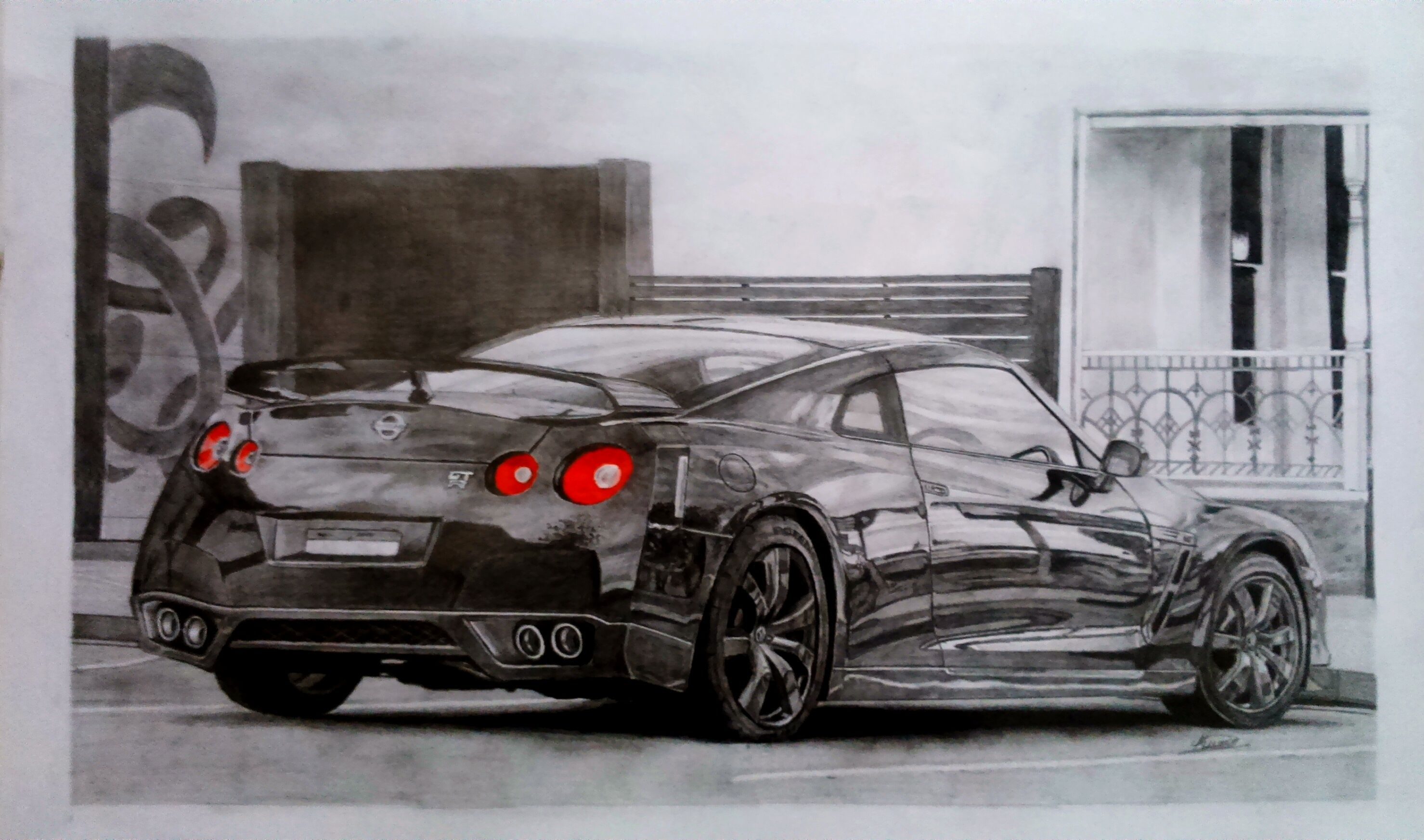 Pencils used : 6H to 10B Paper : Ivory card ( A3 ) | My pencil ...