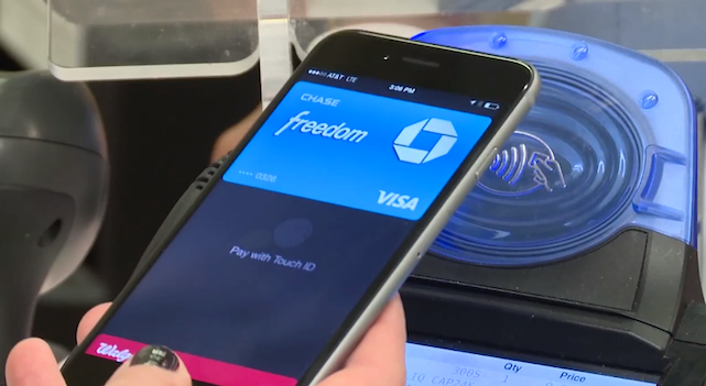 Checking out in 44 seconds at Walgreens with Apple Pay