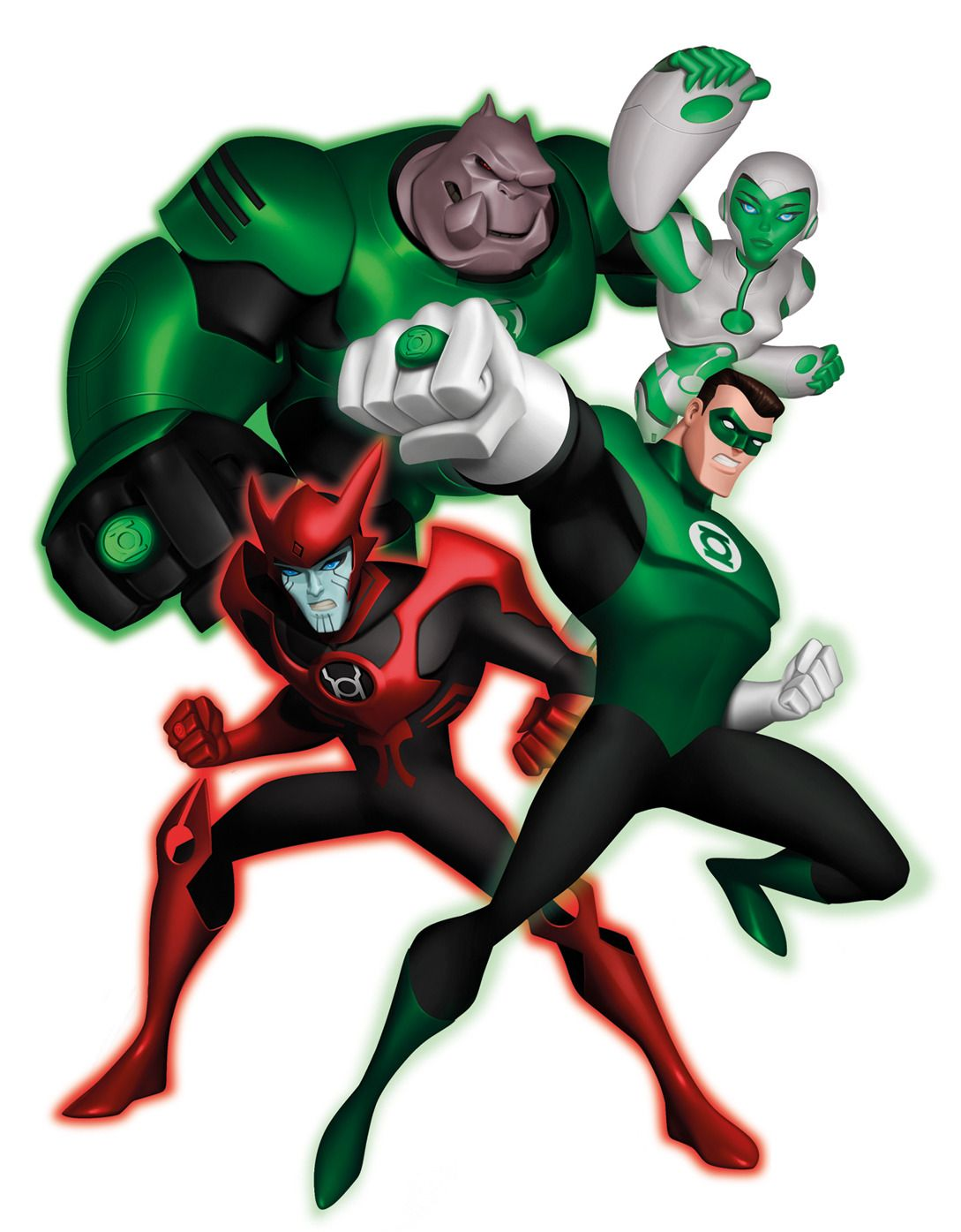 """Review: """"green lantern: the animated series"""" blu-ray shines bright."""