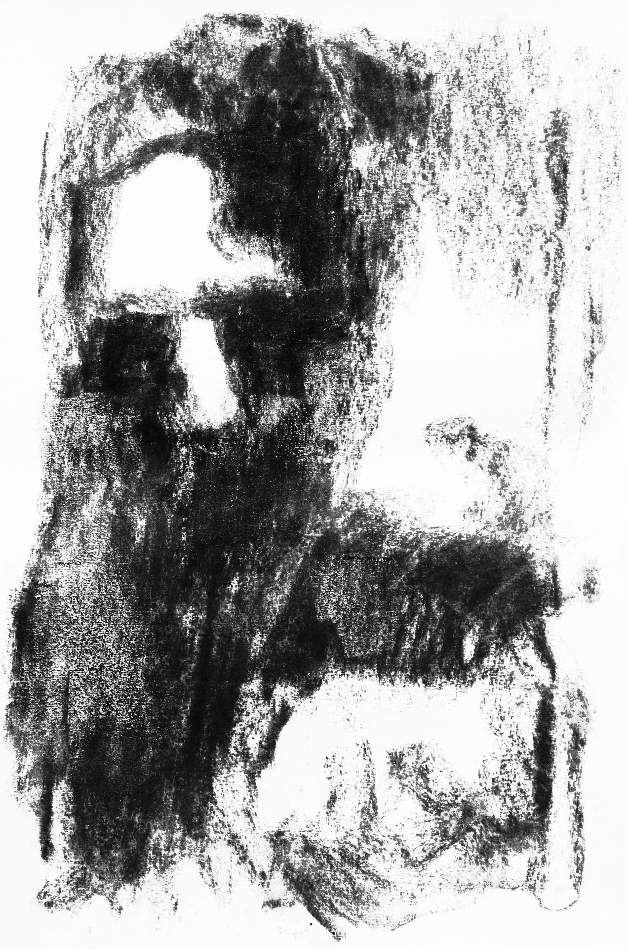 charcoal portrait, december 2012