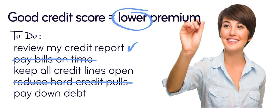 5 Ways To Improve Your Credit Score And Lower Insurance Premiums