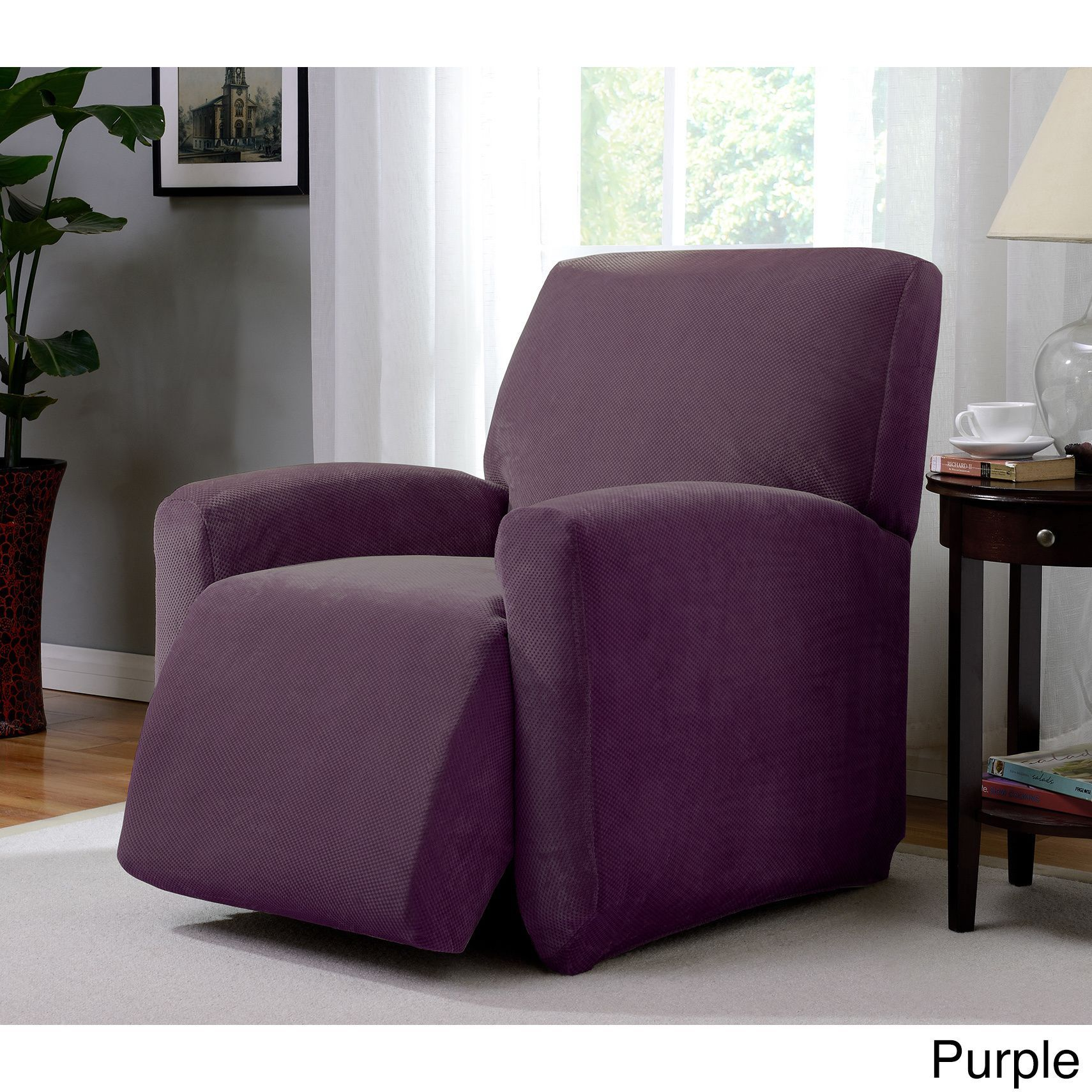 recliners p bar chair jumbo recliner the for slipcovers wing raise stretch slipcover