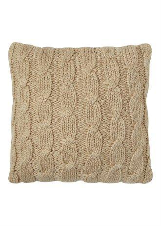 Knitted Cushion Approx 48cm x 48cm  £12