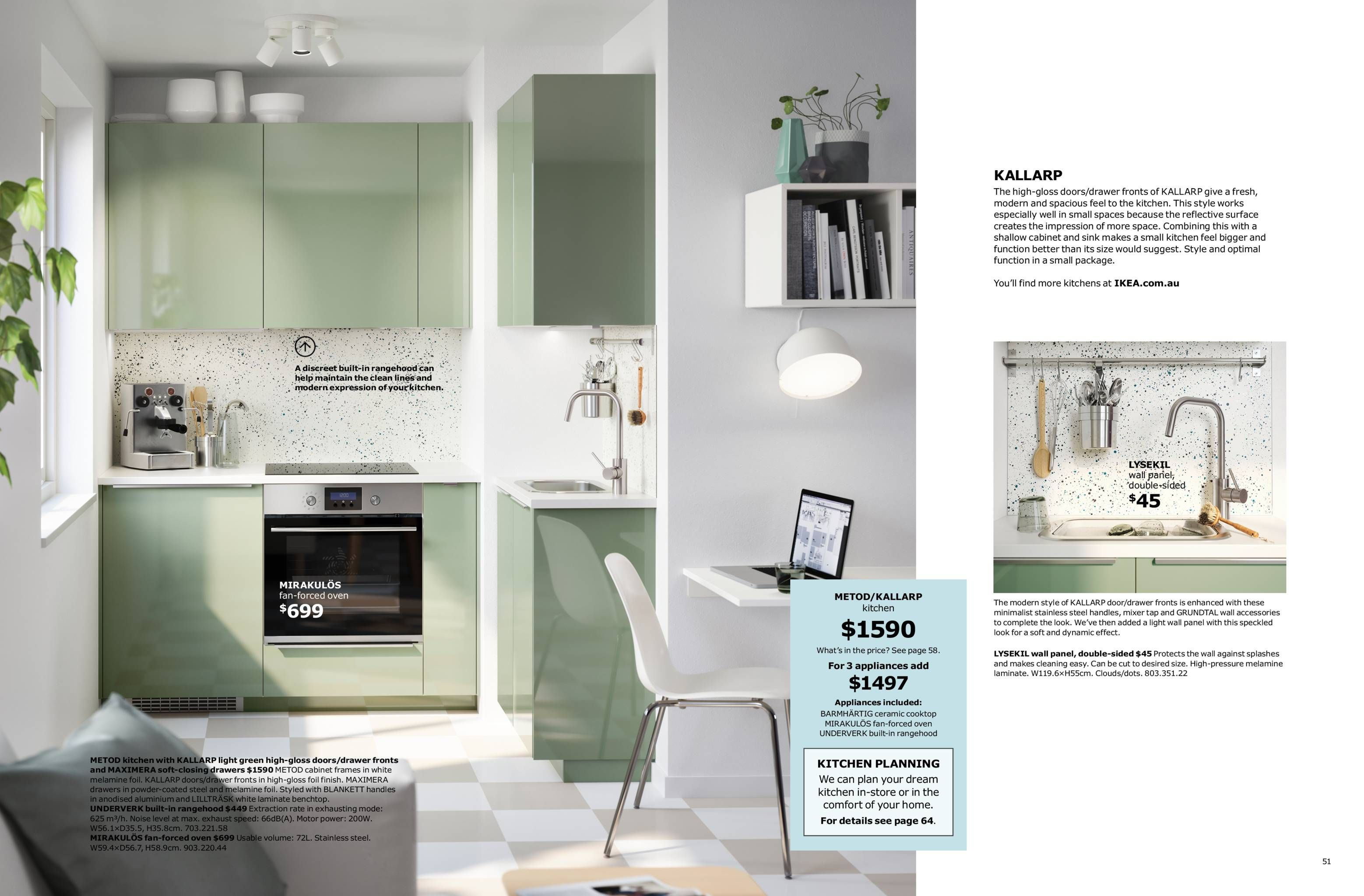 Kallarp Green Kallarp In 2019 Ikea Kitchen Ikea Green