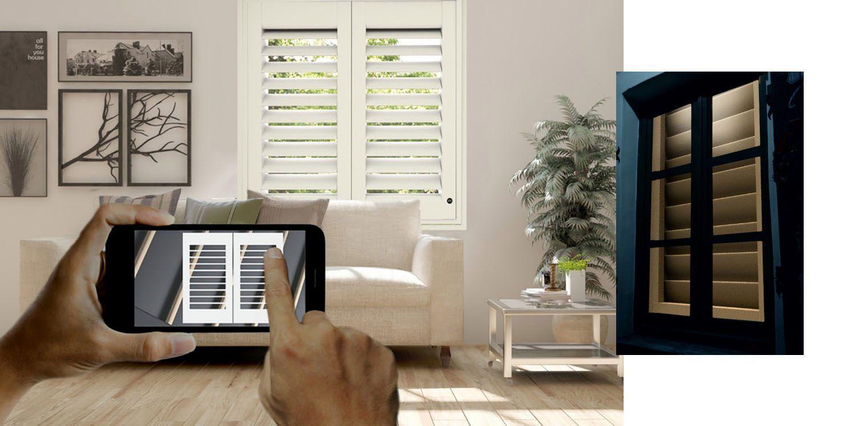 After Smart Blinds Come Homekit Compatible Smart Shutters With Hidden Features Video Smart Blinds Kit Homes Blinds