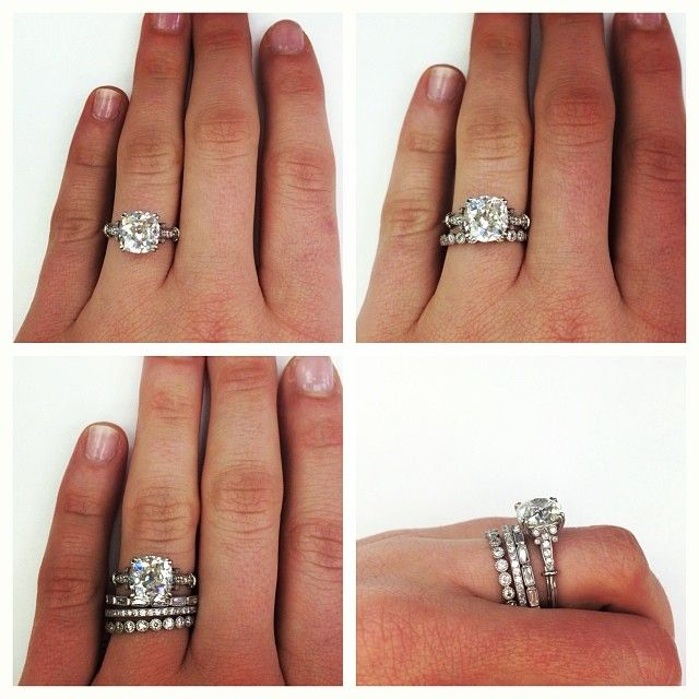 Engagement ring wedding band a band for your husband a band