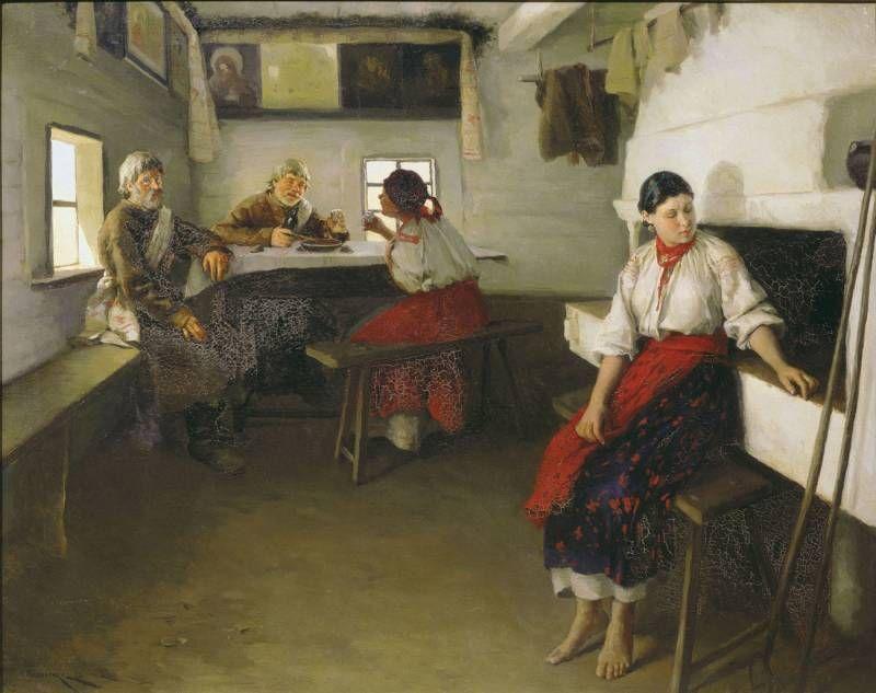 Пимоненко Николай (1862-1912) - Сваты
