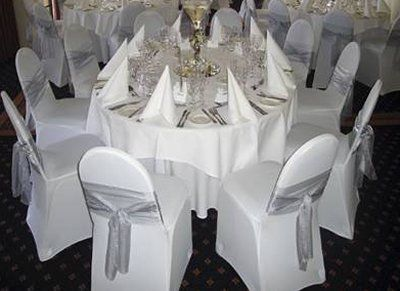 White Wedding Chair Coverswedding Cover Hire Celebration