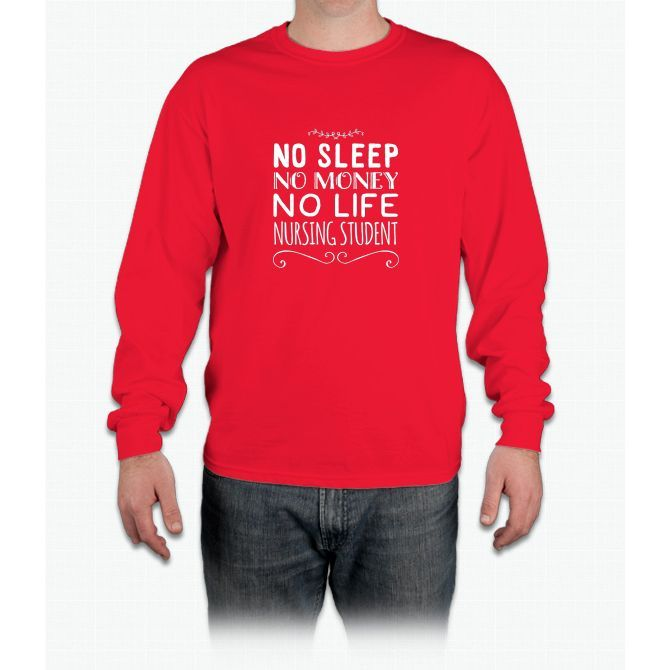 Nursing student T-shirt Long Sleeve T-Shirt