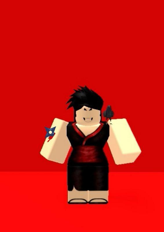 The Ninja Girl With Out The Mask Ninja Girl Artwork Games Roblox