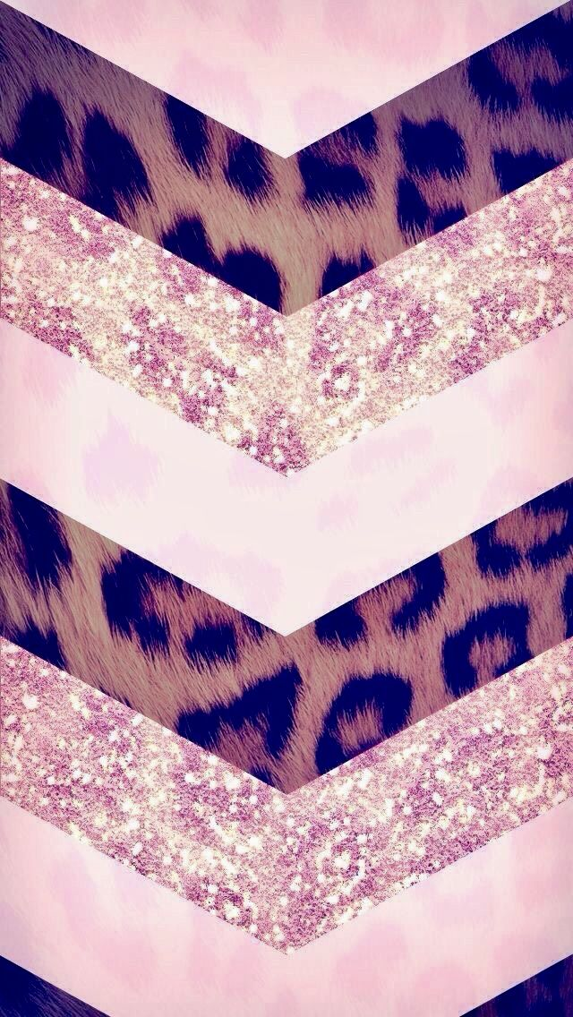 Pin By Vidamiseria On Backgrounds Pink Chevron Wallpaper Leopard Wallpaper Iphone Background Wallpaper