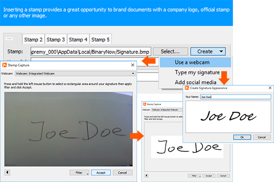 How To Create A Stamp Or A Digital Signature Appearance Of Your Hand Written Signature Digital Digital Signing Digital Signature
