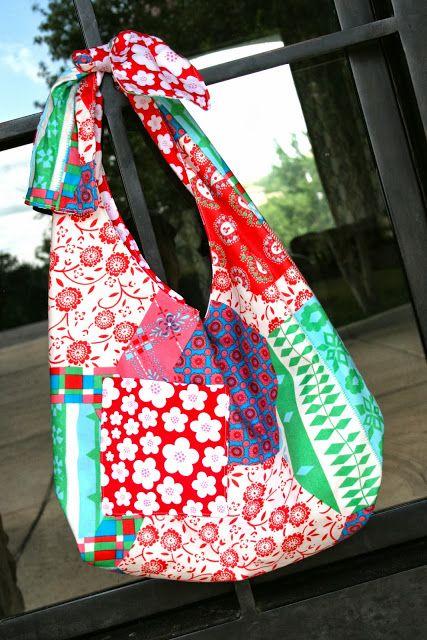 sling bag tutorial easy beginner project diy ideas pinterest taschen n hen n hen und beutel. Black Bedroom Furniture Sets. Home Design Ideas