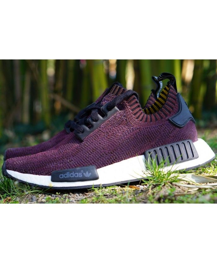 Adidas NMD Custom Purple Burgundy And stylish appearance, comfortable  experience, you are now the