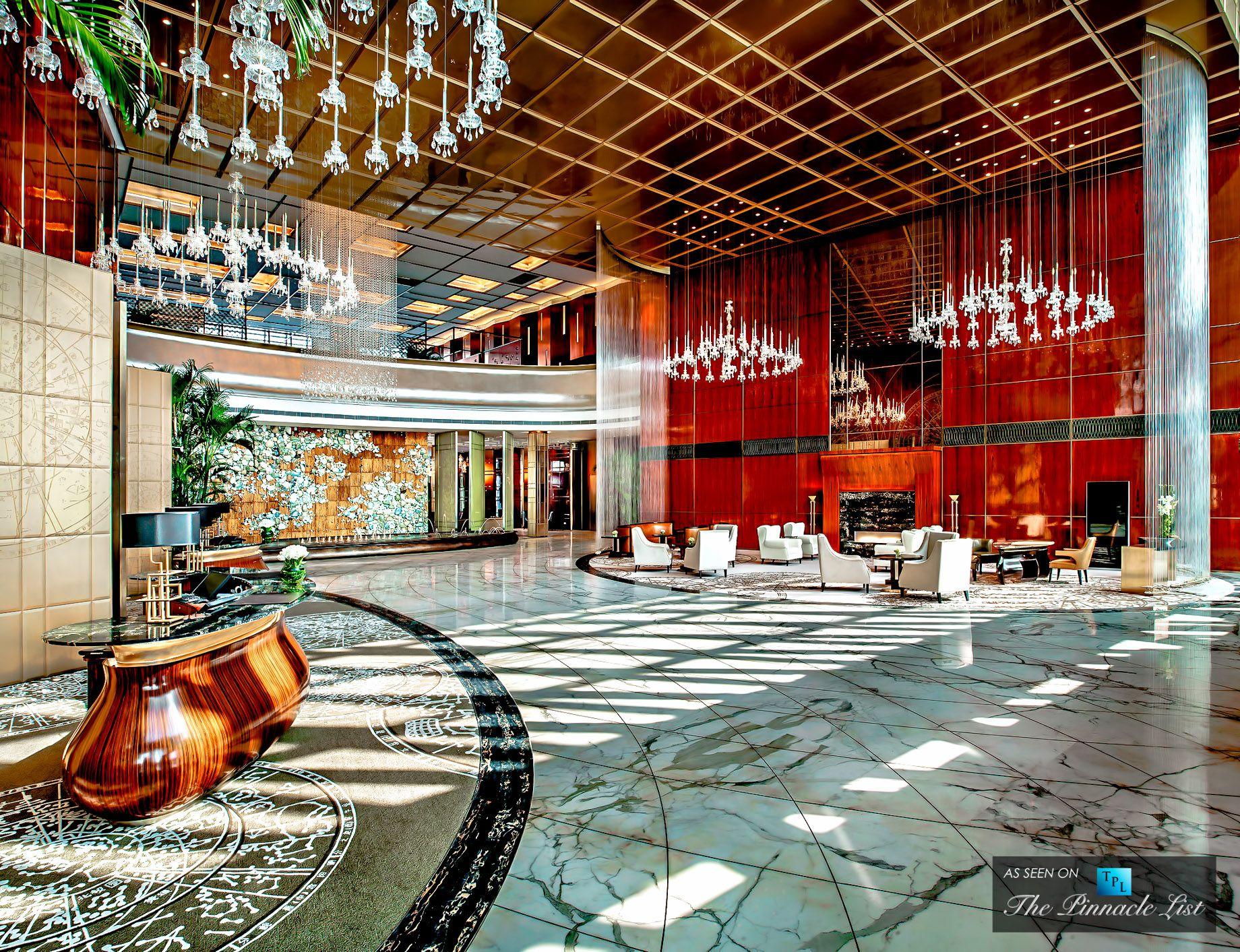 9 St Regis Luxury Hotel Tianjin China Lobby