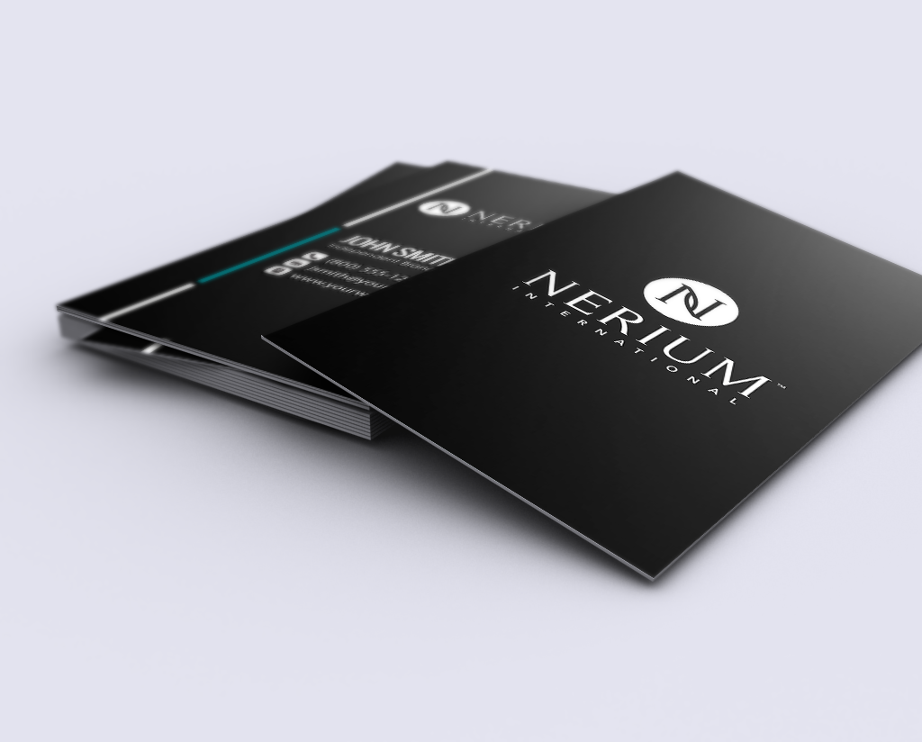 Make A Real First Impression With These Sleek New Business Card Designs For Nerium Brand Partn Printing Business Cards Free Business Cards Business Card Design