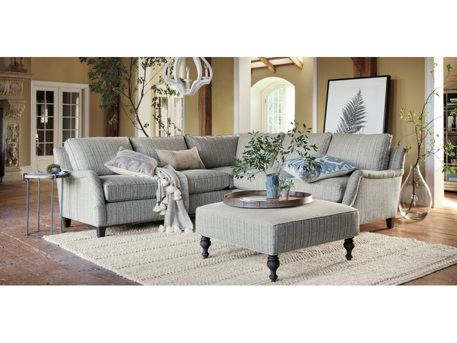 Paxton Upholstered 104 Quot Sectional In Jennings Onyx