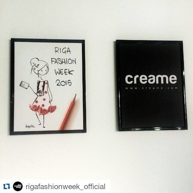Via @rigafashionweek_official  #RFW #fashion #runway #model #creative #art #design #illustration #amazing #beautiful #riga #latvia #painting #repost #creame #virgola
