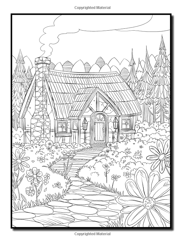 Amazon Little Red Riding Hood An Adult Coloring Book With Classic Fantasy